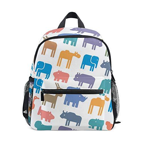 - Beaver Stuffed Animal Pattern 10 Inch Backpack,School Bag Children's backpack Perfect for Preschool, Mini Backpack for Teens and Kids