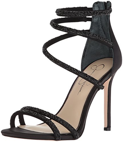 Jessica Simpson WoMen Jamalee Heeled Sandal Black