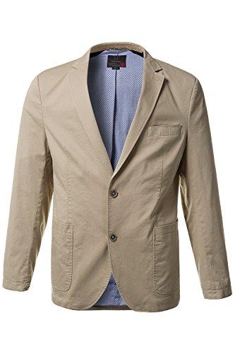 JP 1880 Men's Big & Tall Contrast Lined Crease Free Blazer Sand 52 708362 - For Men Preppy Blazers