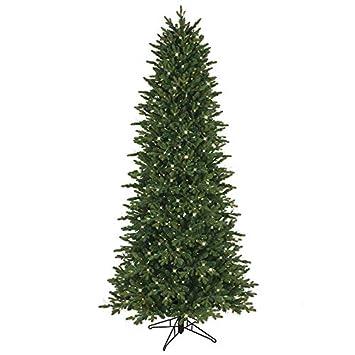 GE 7.5-ft Pre-lit Aspen Fir Slim Artificial Christmas Tree 800 Constant  Clear - Amazon.com: GE 7.5-ft Pre-lit Aspen Fir Slim Artificial Christmas
