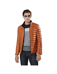 MADHERO Mens Lightweight Down Jackets Full Zip Winter Down Coats