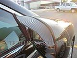 200 honda accord accessories - TrueLine Black Carbon Fiber Mirror Visor Rain Guards
