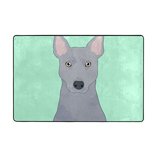 My Daily Thai Ridgeback Dog Area Rug 2 x 3 Feet, Living Room Bedroom Kitchen Decorative Lightweight Foam Printed Rug by ALAZA