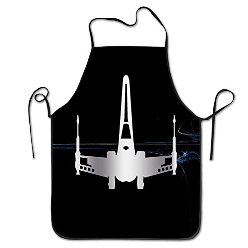 Starwars Jedi XWing Platinum Style Stitched Edges Cooking Apron