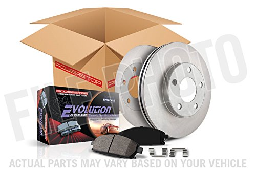 Autospecialty KOE6560 Daily Driver 1-Click OE Replacement Front/Rear Brake Kit