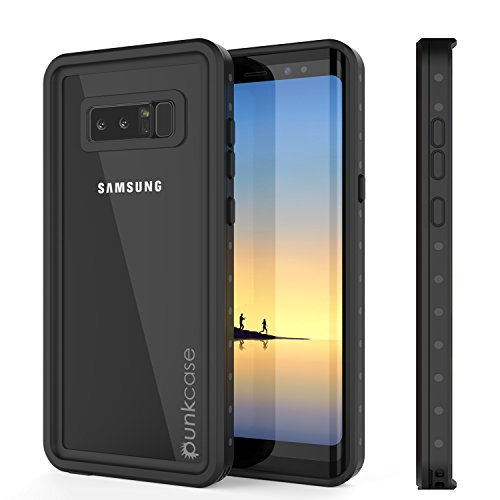 Galaxy Note 8 Waterproof Case, Punkcase [StudStar Series] [Slim Fit] [IP68 Certified] [Shockproof] [Dirtproof] [Snowproof] Armor Cover for Samsung Galaxy Note 8 ()