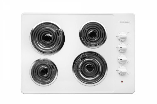 "Frigidaire FFEC3005LW 30"" Electric Cooktop, White"
