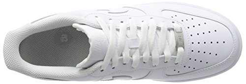 Nike Mens Air Force 1 Low 07 Basketball Shoes White/White 315122-111 Size 11
