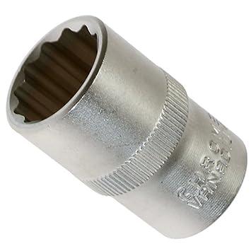Steckschlüssel-Einsatz 19 mm 1//2 12,5 12-Kant