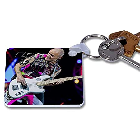 Red Hot Chili Peppers - Flea 2 Novelty Keyring Printed ...
