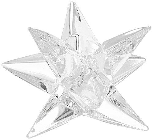 Abbott Collection Crystal Star Taper - Starlight Candlestick