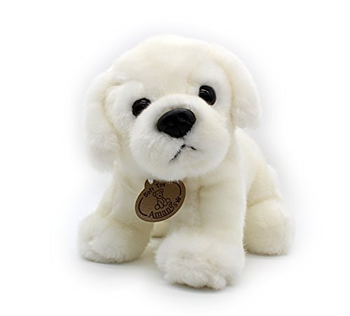 Vintoys White Labrador Retriever Plush Puppies Stuffed Animals Dogs Plush Toy 10