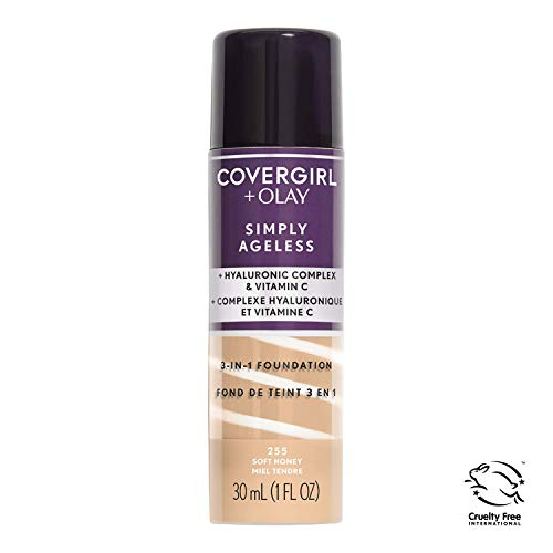 COVERGIRL Simply Ageless 3-in-1 Liquid Foundation (packaging may vary), 1 Count