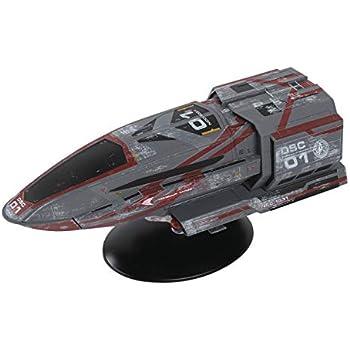 S.S xhosa-Star Trek Eaglemoss-nave espacial modelo de metal