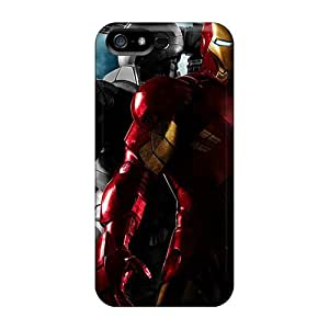For Iphone Case, High Quality Iron Man And War Machine For Iphone 5/5s Cover Cases