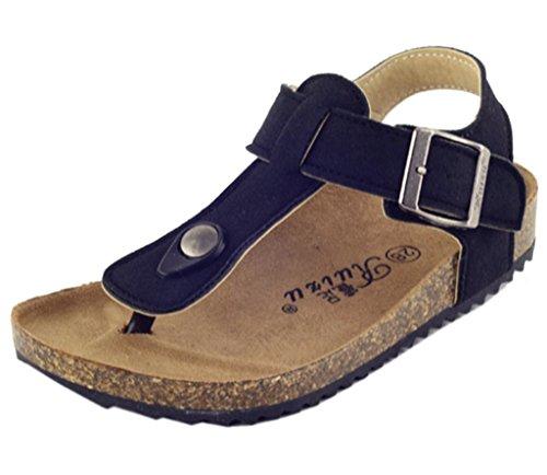 DADAWEN Boy's Girl's Adventure Flip Flops Sandals (Toddler/Little Kid/Big Kid)