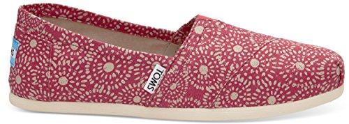 Watches Children Shoe (TOMS Seasonal Classics Fuchsia Shibori Dots Women's Slip on Shoes)