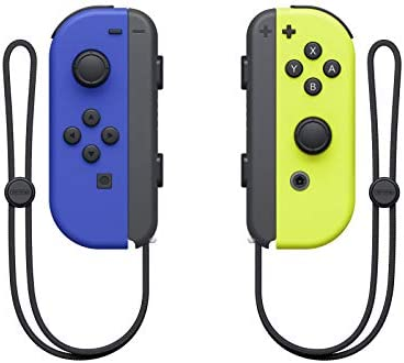 SW Nintendo Switch JOY-CON NEON YELLOW & BLUE 4