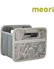 Meori Faltbox Mini Bunt/Cupcake 16,5x12,5x14cm abwischbar, Stabil, Polyester Schreibtisch Badezimmer Flur Staubox Stifte Accessoires Aufbewahren Caja Plegable, poliéster