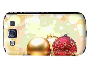 Custom Christmas Hard Plastic Phone Case Fit for Samsung Galaxy S3