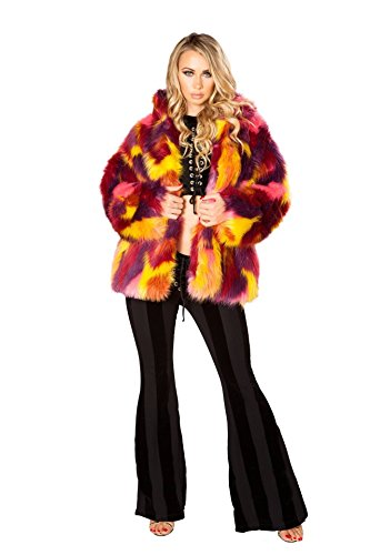 Rave Outfits J. Valentine London Hip Length Coat With COMPLIMENTARY Shorts by Rave Outfits