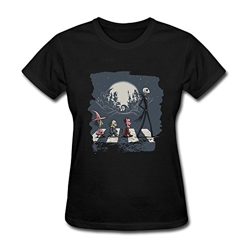 Women's Jack Abbey Road Halloween Twon (Tegan And Sara Halloween T Shirt)