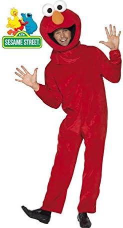 Barrio Sésamo Disfraz de Elmo Adultos: Amazon.es: Juguetes y juegos