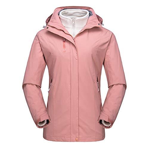 Rose Rose Rose Femme Avec 1 Imperméable Ski Light Polaire Veste Veste Veste En Softshell 85YnqwT