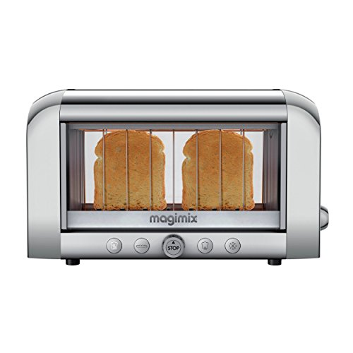 Magimix Vision Toaster (Chrome) -11529LC See Through Panel