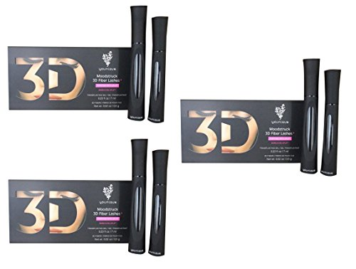 Younique Moodstruck 3D Fiber Lashes, Fortified With Uplift: