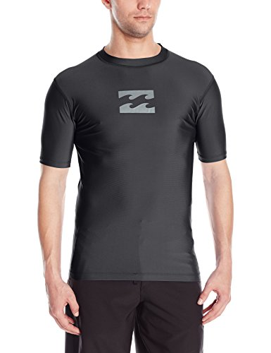 빌라봉 Billabong Mens All Day Wave Loose Fit Short Sleeve Rashguard