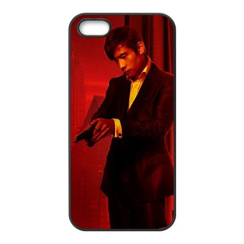Byung Hun Lee In Red 2 coque iPhone 5 5S cellulaire cas coque de téléphone cas téléphone cellulaire noir couvercle EOKXLLNCD22608