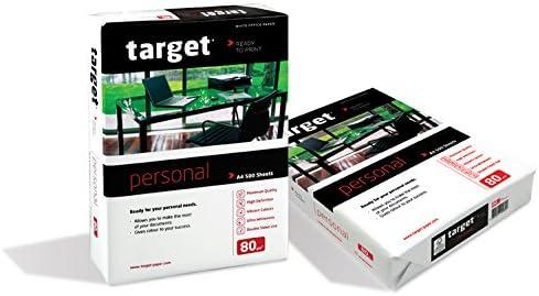 Target Personal Kopierpapier 80g/m² DIN-A3 500 Blatt Druckerpapier weiß