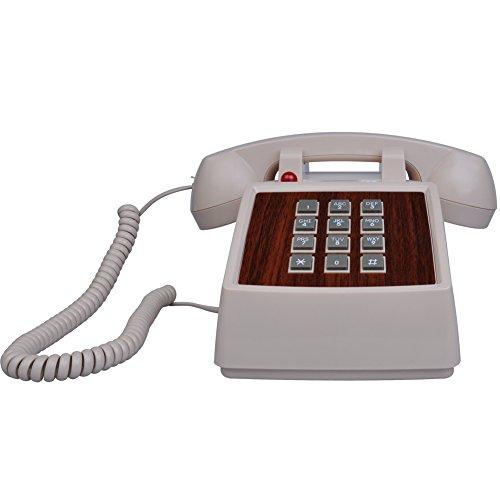 LeeKer LK-P018P Retro Antique Landline Phone Home Desk Corded - Retro Buy Best Phone