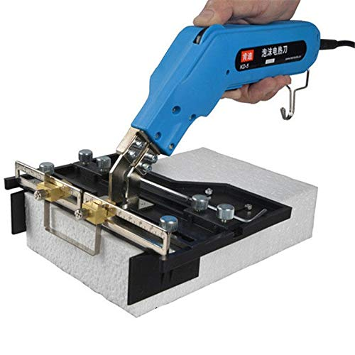 DOMINTY 110V 150W Electric Knife Hot Knife Foam Cutter Foam sculpture hot knife cutter (Foam Cutter) 6'' Straight Blades & Groover Groover by DOMINTY (Image #4)