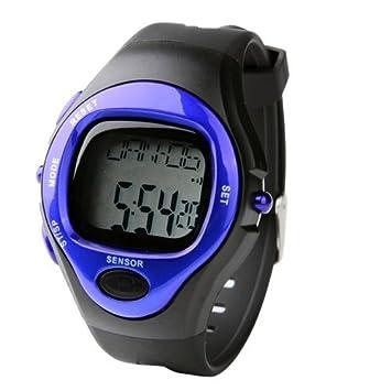 Pulsometro Cronometro Contador de Calorias Ritmo y Cardiaco LCD