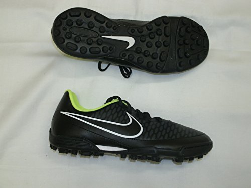 NIKE JUNIOR MAGISTA version césped Botas de fútbol - tamaño 5,5 - negro/cromo/querube