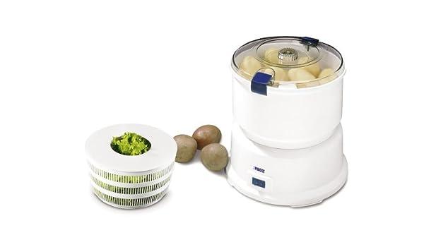 Princess 491940 Royal Potato Peeler/Salad Spinner, Blanco - Robot ...