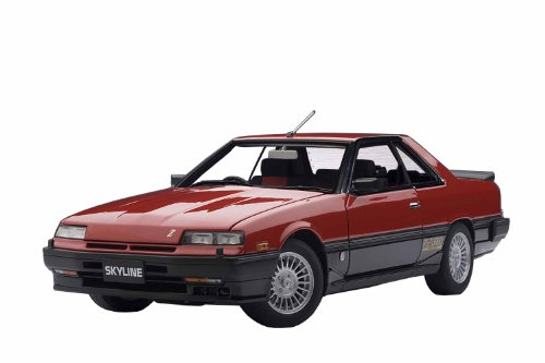 (AUTOart 1/18 NISSAN SKYLINE HARDTOP 2000 TURBO INTERCOOLER RS-X RED (japan import))