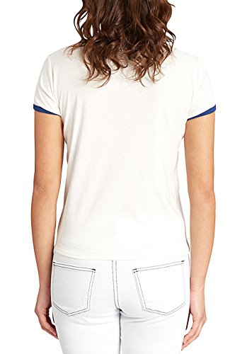 2017 Billabong Ladies Contrast Ringer Tee COOL WHIP C3SS05