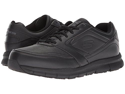 [SKECHERS(スケッチャーズ)] メンズスニーカー?ランニングシューズ?靴 Nampa Black 10.5 (28.5cm) D - Medium
