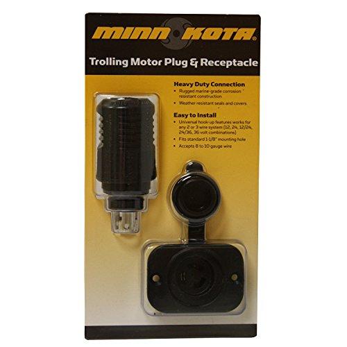 MinnKota MKR-18 12V Plug & Receptacle