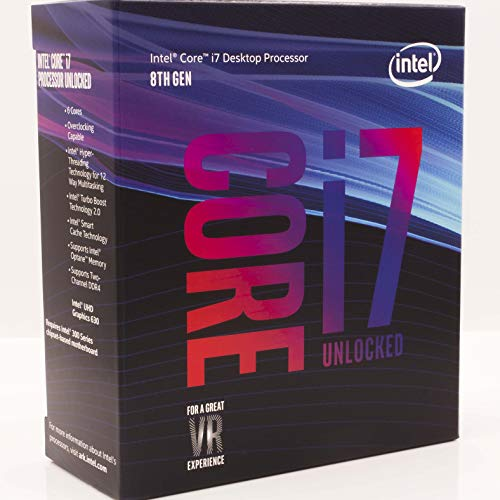 Electronics : Intel Core i7-8700K Desktop Processor 6 Cores up to 4.7GHz Turbo Unlocked LGA1151 300 Series 95W