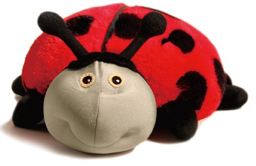Zoobies Plush Toy, Lilly The Ladybug (Soft Plush Zoobies Toy)