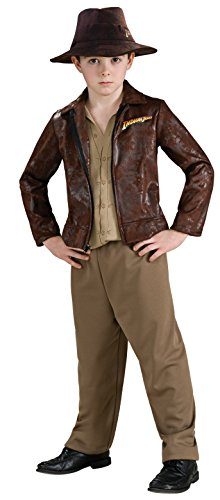 Indiana Jones Child's Deluxe Indiana Jones Costume, Medium
