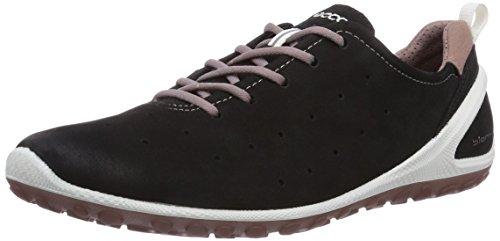 Ecco BiomLite - zapatillas de running de cuero mujer Negro (BLACK/WOODROSE59903)