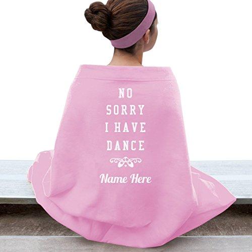 Funny Dance Custom Name Blanket: Gildan Dryblend Stadium Blanket by Customized Girl