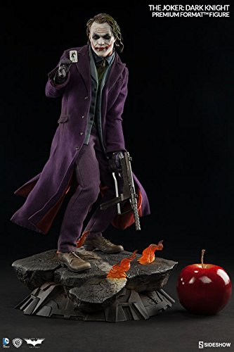 (Sideshow DC Comics Collectibles Batman The Dark Knight The Joker Premium Format Figure Statue)