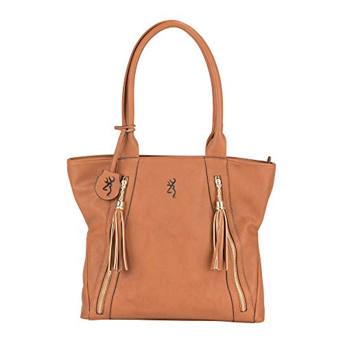 Browning Alexandria Concealed Carry Purse | Brown
