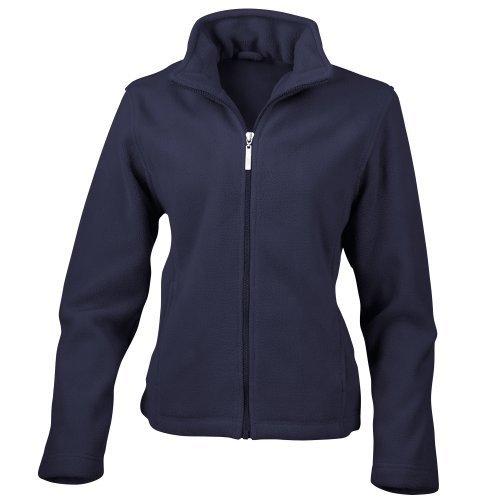 Result Ladies/Womens La Femme Semi-Micro Anti Pilling Fleece Jacket (M) (Navy Blue) (Navy Us Blue Jackets)